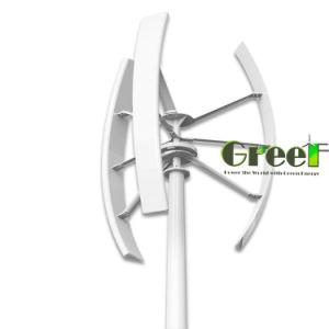 3Квт вертикальный ветровой генератор с низкой частотой вращения для домашнего использования