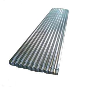 Longue étendue de zinc tôle de toit ondulé