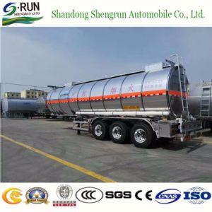 dell'olio 3axles del serbatoio di combustibile rimorchio pratico di alluminio semi