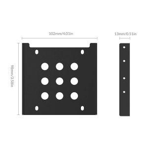 Kundenspezifischer Konverter-Festplattenlaufwerk-Halter für PC