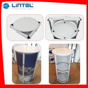 Publicidad 3 capas de aluminio del contador de promoción de la mesa de exposición (LT-07A)