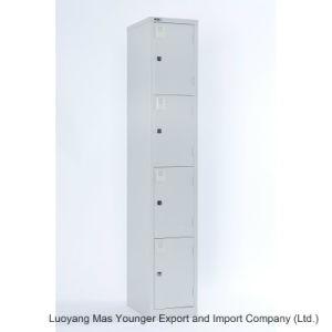 Alta calidad de derribar la estructura de acero de 4 puertas armario