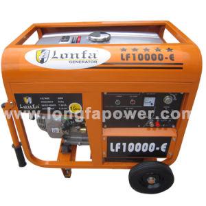 7.5/8.2kVA 220V 남아프리카 Lonfa Portable Home Petrol Generator