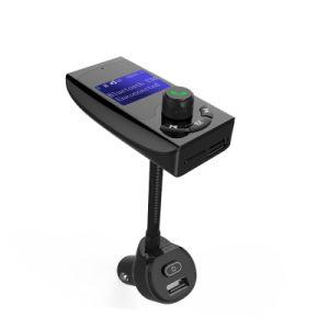 Venta caliente Alquiler de transmisor Bluetooth Wireless FM Reproductor de MP3 transmisor Bluetooth Car Kit USB Cargador de coche