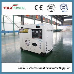 Gruppo elettrogeno diesel del nuovo di disegno 5.5kVA motore silenzioso portatile di potere