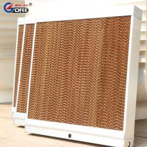 Almohadilla de refrigeración por evaporación de granja avícola y de Invernadero