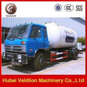 5 van LPG Bobtai van het Vervoer van de Nieuwe vulling van het Propaan van het Gas 12m3 ton van de Vrachtwagen van LPG Dispener