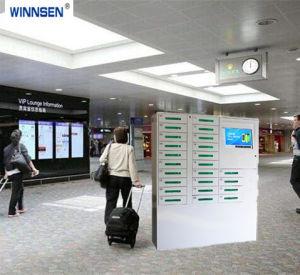 24 Tür-grosser Bildschirm-Handy-Ladestation, Handy-aufladenkiosk für Russland, nehmen Rubel-Münzen und Papermoney an