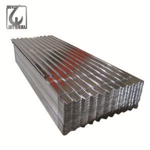 Telhas de aço galvanizado Telhas Onduladas para construção