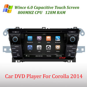 Toyota Corolla 2014년을%s 특별한 Car DVD Player