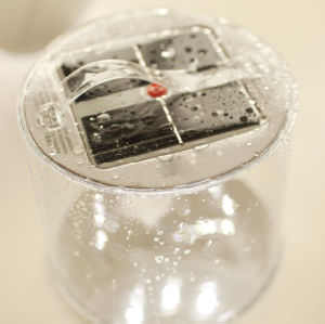 太陽空気ランタン10LEDが付いている元の膨脹可能な太陽ランタンの膨脹可能なライト