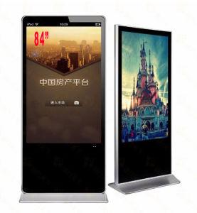 84 de Vloer die van de KleinhandelsWinkel HD van de Supermarkt van de duim de Digitale Signage LCD van het Scherm van de Aanraking van Media Player van het Netwerk van de Vertoning Video Interactieve Kiosk van de Informatie van de Reclame bevinden zich