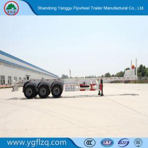 12r22.5/12.00r20 het Koolstofstaal van de band 2/3 Aanhangwagen van de Container van het Skelet van Assen voor Vervoer van de Container 20/40FT