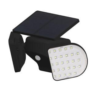 2018年の人間誘導はIP65二重ヘッド太陽壁ライトを防水する