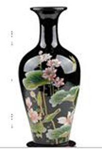 Китайский антикварным фарфором ваза с остеклением