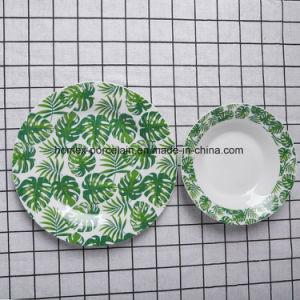 Western New Style populaire jeu de la vaisselle en céramique