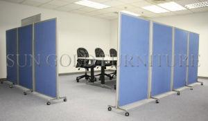 Divisorio mobile pieghevole del legno del muro divisorio del tessuto delle forniture di ufficio (SZ-WST700)