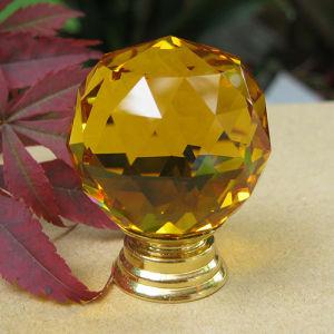 Het amber Glas ziet Kleine Knoppen 20mm van het Kabinet onder ogen