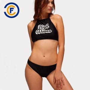 Nuevo estilo fashion estampadas Bikini chica sexy traje de baño