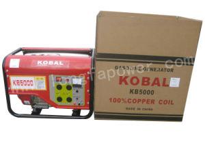 5kw/5kVA Kobal Type Portable Key Inizio Gasoline Generator per l'Egitto