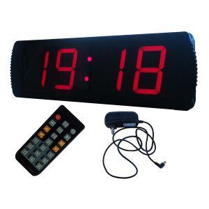 4インチ4のディジットLEDデジタル時計は、規則的なクロックおよびCountdown/up機能、赤いカラーをサポートする