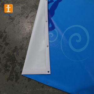旗(TJ-40)を広告する屋外の高リゾリューションの印刷されたビニールPVC
