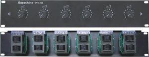 Dirección Pública Amplificador de control del volumen del sistema de audio
