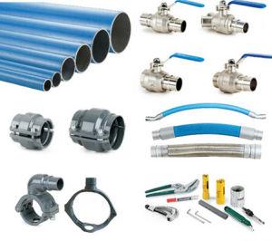 Rete di tubazioni materiale di alluminio dell'aria compressa Dn50