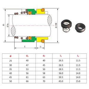 Burgmann M2n механическое уплотнение, горячей воды Ksb уплотнения насоса