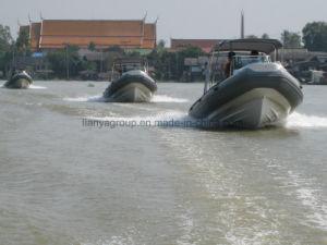 Liya 최고 중앙 콘솔 배 6.6m 엄밀한 팽창식 섬유유리 구조 배