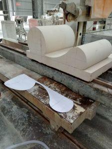 CNC de Draad van de Diamant van de Steen zag het Scherpe Graniet van de Machine/Marmeren Blok