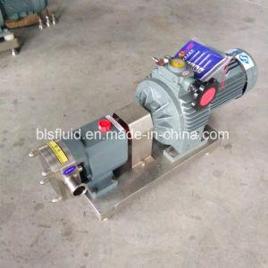 강철 산업 회전하는 로브 묵 잼 펌프