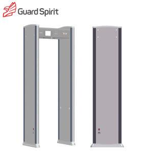 Индикатор тревоги высокого класса связи контроль доступа ходьбы через металлоискатель