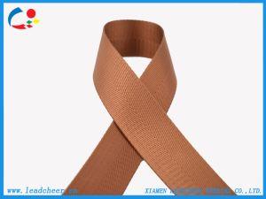 Proveedor de fábrica de correas de nylon de color marrón para cinturón.