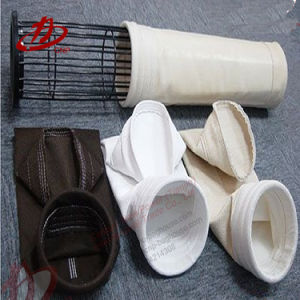 Industrielle Baghouse Staub-Sammler-Nadel geglaubte nichtgewebte Filtertüte