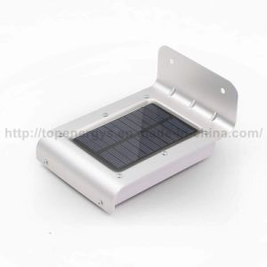 Indicatore luminoso solare esterno impermeabile senza fili del supporto della parete di obbligazione dei 16 del LED di movimento indicatori luminosi solari sani del sensore per il cortile del giardino