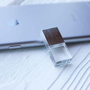 [Король Master ] новый элемент малых кристально чистый флэш-накопитель USB перо диск Кристалл 60 X 20 X 15 мм