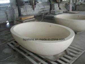 Arenaria di pietra naturale del basamento/vasca da bagno di pietra ...