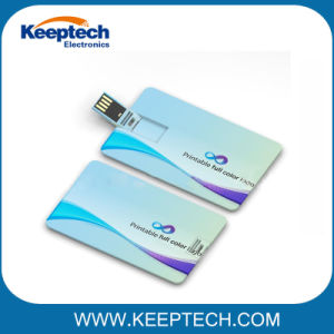 Кредитная карта флэш-накопитель USB с полным для печати Рекламные сувениры