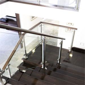Copo de aço inoxidável em deck balaustrada 12mm temperada Apagar/Balaustrada fosco