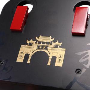 Diseño personalizado perfecto embalaje MDF Cuadro vino