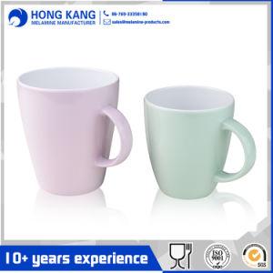 Las ventas de café caliente ecológica taza personalizada de melamina de plástico