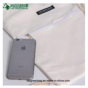 Vorderen Pocket Reißverschluss-Abschluss-Segeltuchdrawstring-Rucksack-Beutel anpassen
