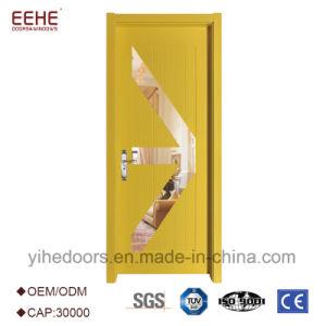 De houten Industriële Deuren van het Ontwerp van het Comité met Glas