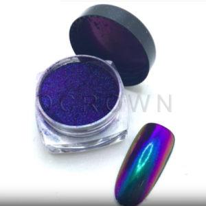 Косметический Chrome Chameleon краска цветовой сдвиг пигмент лак для ногтей