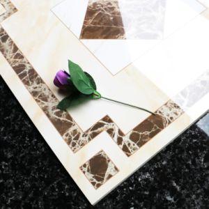 Het grijs verglaasde de Glanzende Opgepoetste Tegel van de Vloer van het Porselein voor Commercieel Gebruik (SD6003)