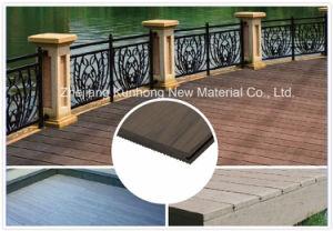 Mengeling-kleur--Waterdichte Regelmatige WPC Decking voor Openlucht, Zwembad