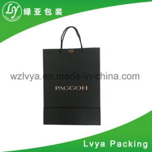 Form kundenspezifischer überzogener Einkaufen-Geschenk-Beutel-Papierhersteller
