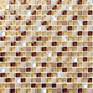 Heißer Verkaufs-Mischfarben-Mosaik-Muster-Swimmingpool-Fliesen