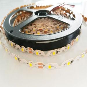 Altos anchura flexible de la tira 6m m de la dimensión de una variable SMD 2835 brillantes LED de S